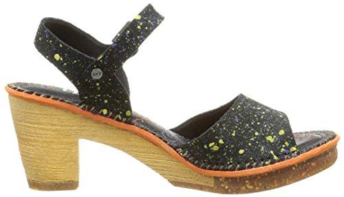 Art Amsterdam 325 - Zapatos de vestir Mujer Multicolor - Multicolore (Dotted Black)