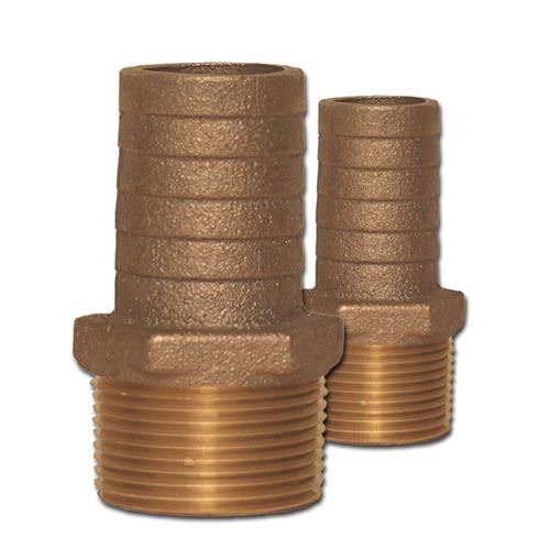 Buck Algonquin 00HN100113 Bronze Pipe to Hose Adapters Combo
