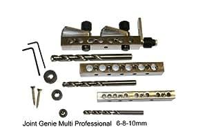 Joint Genie - Juego de plantillas para ensamblaje de madera, 6, 8 y 10 mm