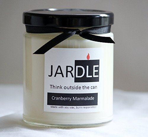 9 Oz. Soy Candle Cranberry Marmalade Dye Free Lead Free With Cotton Wick ()