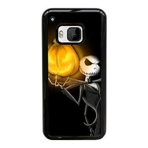 HTC One M9 Cell Phone Case Black halloween jack skellington YT3RN2513886