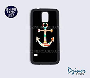 Galaxy S4 Case - Colorful Aztec Anchor