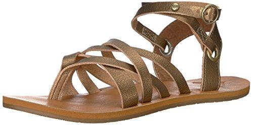 Roxy Womens Bailey Multi Strap Sandal Flat
