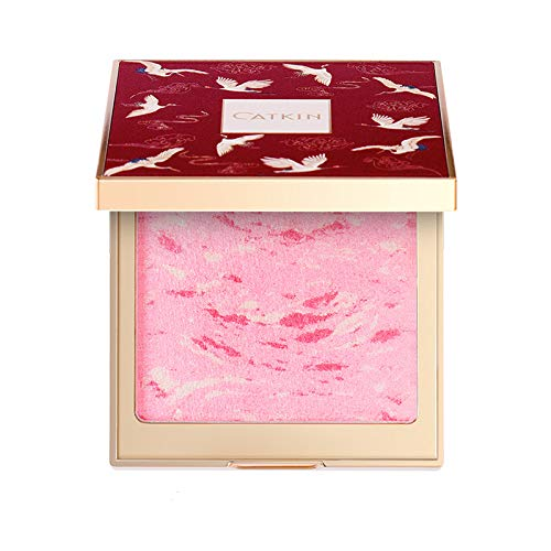 - CATKIN Cheek Blush Bake Pink Peach Multi Blusher Natural Powder Palette 10g C01