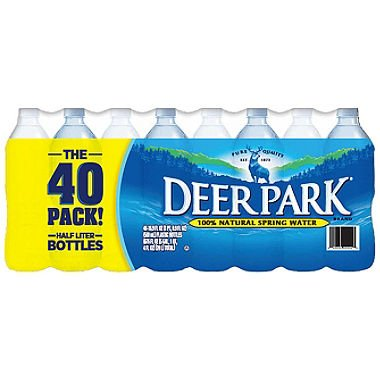 Deer Park Natural Spring Water (16.9 Oz. Bottles, 40 Pk.) (Pack Of 2) by Deer Park