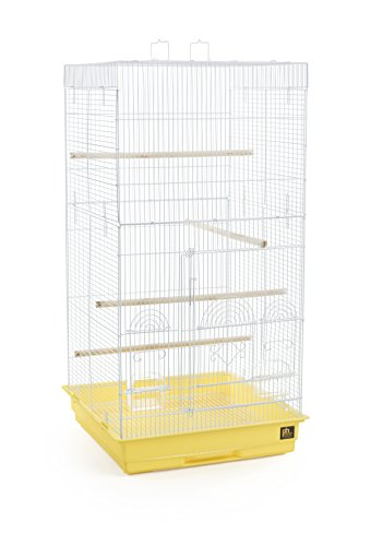 Prevue Pet Products SPECONO1818H-Y Tall Tiel Cage, Yellow by Prevue Pet Products
