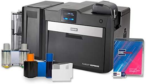 Amazon.com: Fargo HDP6600 - Impresora de tarjetas de ...