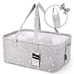 Unique Baby Diaper Caddy Organizer - Lar...