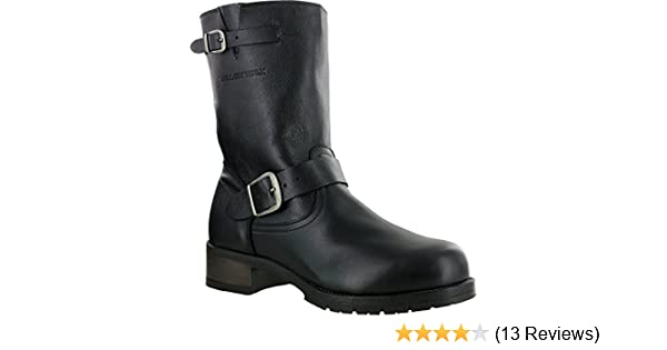 3979c33f2de Mellow Walk Vanessa Womens Black Leather Engineer Work Boots