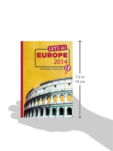 The Student Travel Guide Lets Go Europe