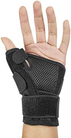HEALIFTY handgelenkschutz daumen praktisches armband nützliches verstellbares bruchverstauchtes armband für studentische männer 1 stück