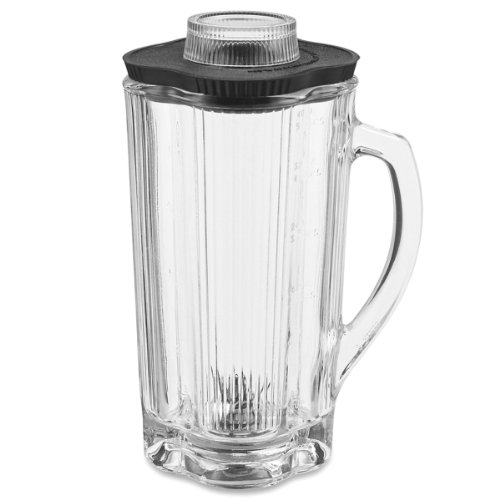 Waring Commercial CAC32 Glass Container with Blade Assembly and Lid, ()