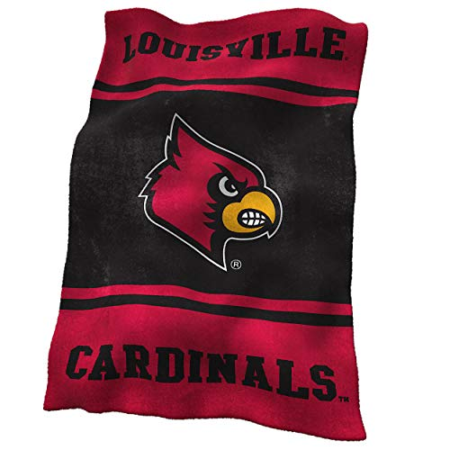 NCAA Louisville Ultrasoft Blanket