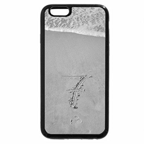 iPhone 6S Case, iPhone 6 Case (Black & White) - Jones Beach