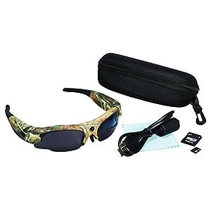 M.E.R.A. Extreme Video Recorder Eyewear-Camo, HD Hidden Camera I-kam Xtreme Video 720p Hd Eyewear-camo.