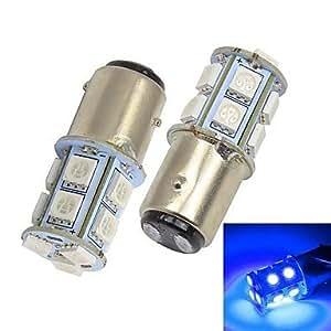 Merdia 115713x 5050SMD LED de luz azul de Auto frenos/Dirección Light ((2unidades/12V)