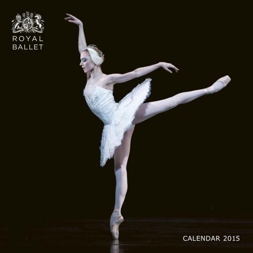 Royal Opera House (Ballerinas) 2015 Square 12x12 Flame Tree
