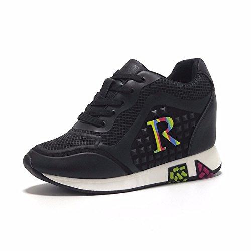 Occasionnels Chaussures Simples Dames Forme Sandales Shoes Chaussures Interne Sauvage Augmentation Plate nbsp;Automne Chaussons Pantoufles F Baskets F xBqZFF