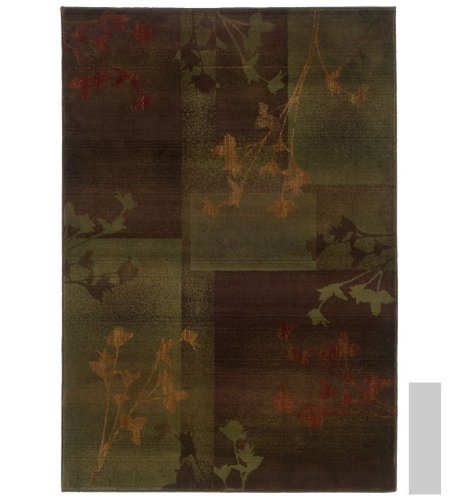 - Kharma Ii Collection Woven Rug (#1048D) 2'3
