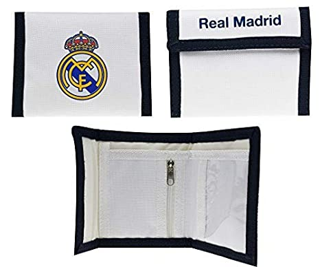 Cartera Oficial Real Madrid CF - Blanco nº1 RM6CAR1: Amazon ...
