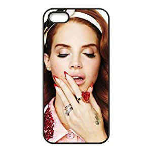 Customiz American Famous Singer Lana Del Rey Back Case for iphone 5 5S JN5S-2480