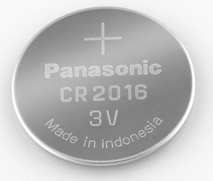 Panasonic CR2016-6 CR2016 3V Lithium Coin Battery (Pack of 6) by Panasonic
