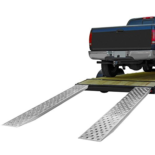 "94"" Aluminum 5,000 Lb Car Hauler Loading Ramps"