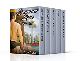 Summer Love - 5 Gay Romances in 1 Box Set! by [Walker, J.D.]