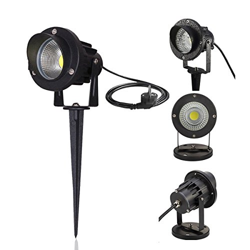 Plug In Garden Spike Lights