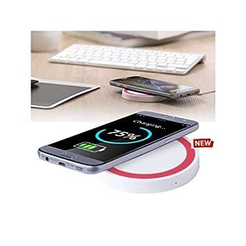 Cargador inalámbrico Qi Wireless Carga Rápida 10 W y ...