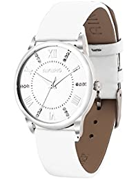 Women Ladies Wrist Watch Waterproof Quartz Watch with Crystal Dial Clock Leather for Female Luxury Fashion