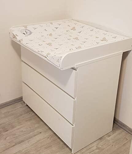 Plan à Langer Pour Commodes Ikea Convient Pour Malm Hemnes Expedit Kallax Brimnes Nordli Tarva Koppang Commode Avec Une Largeur De 30 51 Cm