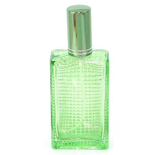 """Crystal Candy"" Glass Spray 100ml for Purse or Travel Refillable/ Fragrance Refilable Sprayer/ Perfume Bottle/ Perfume Refilable Sprayer (Crystal Green)"
