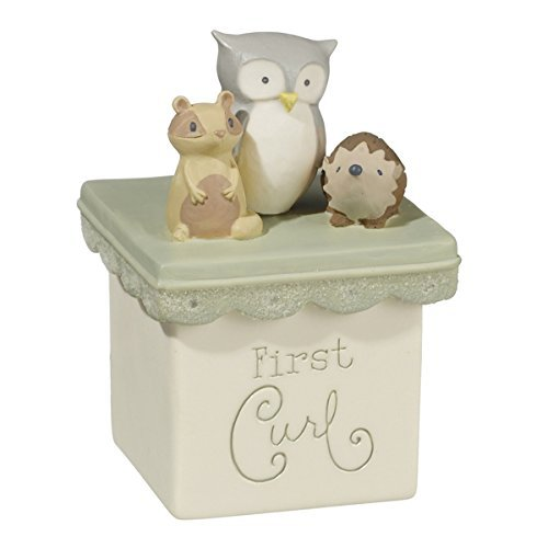 First Tooth & First Curl Boxes Set (Animal Keepsake Give Boxes)