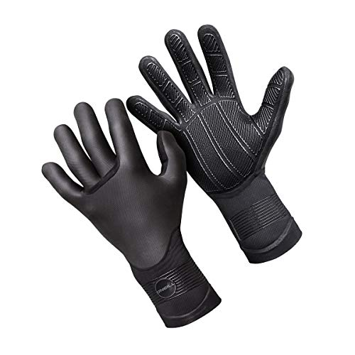 O Neill Psycho Tech 5mm Gloves Wetsuit Gloves Large Black