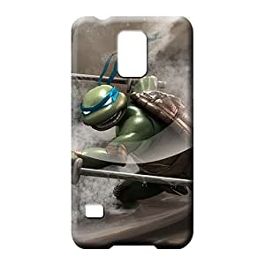 samsung galaxy s5 phone carrying case cover Plastic Excellent For phone Cases ninja turtles