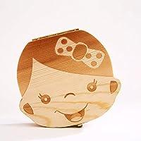 Little Sporter Niños Niño Niña dientes de leche caja madera ...