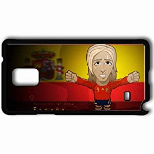 Personalized Samsung Note 4 Cell phone Case/Cover Skin 2013 fernando torres Black