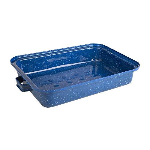 Stansport Enamel Roasting Pan, 5 Quart