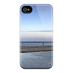 Durable Defender Case For Iphone 4/4s Tpu Cover(old Aboned Lighthouse)