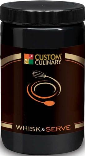Custom Culinary Whisk and Serve Beurre Blanc Sauce Mix, 38 Ounce -- 4 per case.