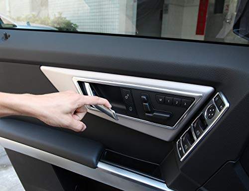 AUTO Pro for 2009-2015 Mercedes Benz GLK X204 GLK200 260 Automotive Interior ABS Door Decorative Frame Trim