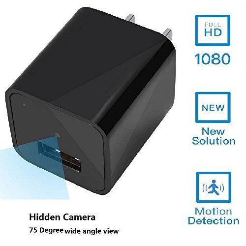 Hidden Camera Activated Adapter Security