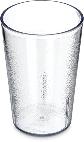 8 Ounce Clear Tumbler (Carlisle 5526-8107 Stackable Shatter-Resistant Plastic Tumbler, 8 oz., Clear (Pack of 6))
