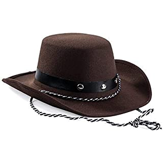 Brown Baby Cowboy Hat Kids Party Cowboy Hat Western Cowboy Costume Accessory