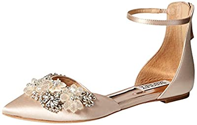 Badgley Mischka Women's Abby Ballet Flat