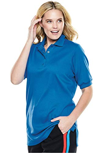 Woman Within Plus Size Easy Fit Polo