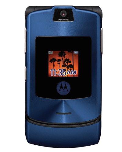 Motorola V3i Razr Blue - Unlocked