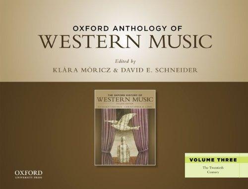 Oxford Anthology Of Western Music,V.3