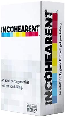 WHAT DO YOU MEME Incohearent - Adult Party Game